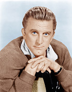 Incol Acrylic Prints - The Hook, Kirk Douglas, 1963 Acrylic Print by Everett