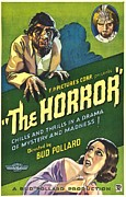 Horror Movies Photos - The Horror, Poster Art, 1932 by Everett