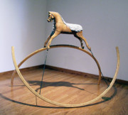 Dreams Sculptures - The Horse by Mihaela Nicolcioiu-Savu