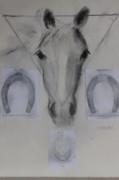 The Horse Pastels - The Horse Shoe Question by Thomas Scheibal