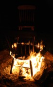 Fire Pit Art - The Hot Seat by Mandy Shupp