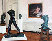 Statues Paintings - The Hotel Biron by Tom Roderick