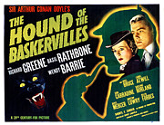 Posth Posters - The Hound Of The Baskervilles, Basil Poster by Everett