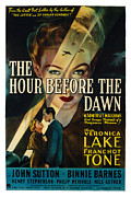 Wartime Prints - The Hour Before The Dawn, Veronica Print by Everett