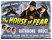 Fod Acrylic Prints - The House Of Fear, Aka Sherlock Holmes Acrylic Print by Everett