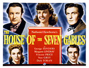 Gables Posters - The House Of The Seven Gables, Top Poster by Everett