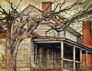 Abandoned House Prints - The House On My Street Print by Kathy Jennings