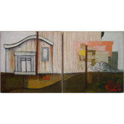 Pittsburgh Mixed Media Originals - The House by V Mann