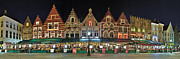 Travel Images Worldwide - The houses of Belgium