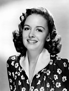 1943 Movies Photos - The Human Comedy, Donna Reed, 1943 by Everett