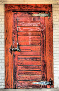 Alexandria Virginia Prints - The Ice House Door Print by JC Findley