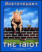 Humorous. Posters - The Idiot... Poster by Will Bullas