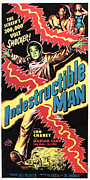1956 Movies Posters - The Indestructible Man, Lon Chaney Jr Poster by Everett