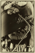 V Twin Prints - The Indian Motorcycle - Vintage Print by David Patterson