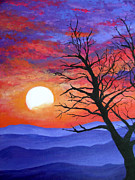 Mountaintop Paintings - The Integrity of a Tree by Amy Scholten
