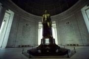 Thomas Jefferson Photo Prints - The Interior Of The Jefferson Memorial Print by Kenneth Garrett