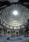 Large Scale Framed Prints - The Interior Of The Pantheon Framed Print by Richard Nowitz