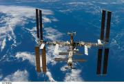 Space Exploration Art - The International Space Station by Nasa