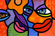 Abstract Faces Posters - The Introduction Poster by Steven Scott