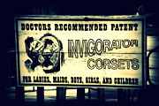 Corsets Posters - The Invigorator Poster by Susanne Van Hulst