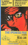 Motion Pictures Prints - The Ipcress File Print by Nomad Art and  Design