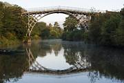 The Iron Bridge  Print by John Hallett
