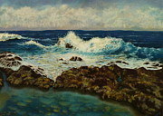 Victoria Pastels - The Irresistible Sea by Janice Mills
