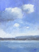 Impressionist Paintings - The Isle of Wight from Portsmouth part two by Alan Daysh