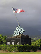 Raising Art - The Iwo Jima Statue by Michael Wood