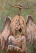 The Jaded Angel Print by Ethan Harris