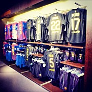 Sports Art - The Jersey #travel #sport #fcbotiga by Tommy Tjahjono