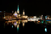 Zurich Prints - The Jewels of Reflection Print by Syed Aqueel