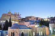 Star Of David Photos - The Jewish Quarter in Jerusalem by Noam Armonn