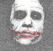 The Dark Knight Drawings - The Joker by Anthony McCracken