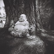 Pine Needles - The Jolly Buddha by Lynn-Marie Gildersleeve