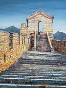 Steps Painting Originals - The Journey by Lynette Cook