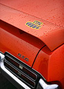 Rain Digital Art Originals - The Judge - Pontiac GTO by Gordon Dean II
