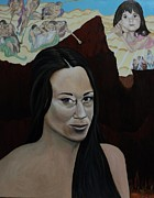Judgment Paintings - The Judgment of Casey Anthony The Sacrifice of Caylee Anthony by Angelo Thomas
