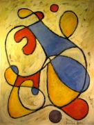 Juggling Painting Originals - The Juggler by Charlie Spear