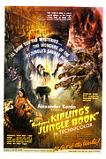 1942 Movies Posters - The Jungle Book, Sabu, 1942 Poster by Everett