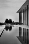 Pool Photography Prints - The Kennedy Center Print by Steven Ainsworth
