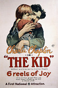 Embracing Posters - The Kid, Jackie Coogan, Charles Poster by Everett