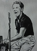 And Jerry Lee Lewis Framed Prints - The Killer Framed Print by Pete Maier