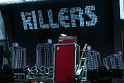 Flowers Photographs Originals - The Killers Stage  by Christopher  Chouinard