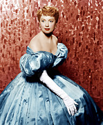 Long Gloves Photo Prints - The King And I, Deborah Kerr, 1956 Print by Everett