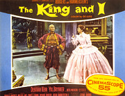 1956 Movies Posters - The King And I, Yul Brynner, Deborah Poster by Everett
