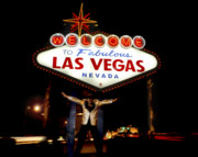 Las Vegas Sign Prints - The King Print by Bryan Steffy