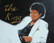 King Of Pop Prints - The King Print by Harry T Ellis