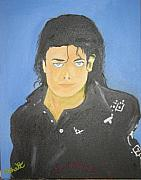Popartist Prints - The King of Pop Print by M Bhatt