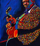 Memphis Paintings - The King by Vel Verrept